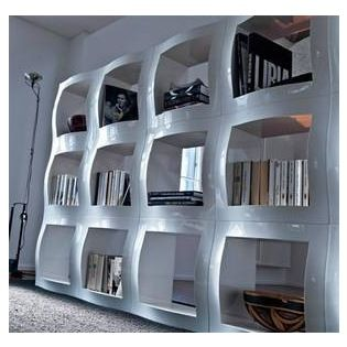 Boogie Woogie Shelving System - What sets this modular shelving unit apart is its glossy finish & 16 best Toy Storage images on Pinterest | Shelving Toy storage and ...