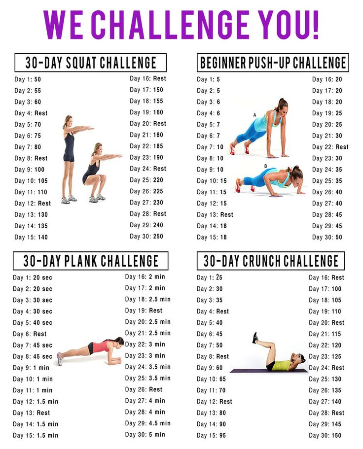 17 Best images about 60 Day Fitness Challenge! on Pinterest ...