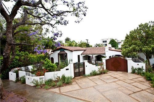 Front yard landscape courtyards landscapes pinterest for Front yard courtyard