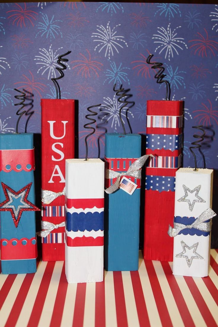 522 best 4th of July images on Pinterest | Americana crafts, July ...
