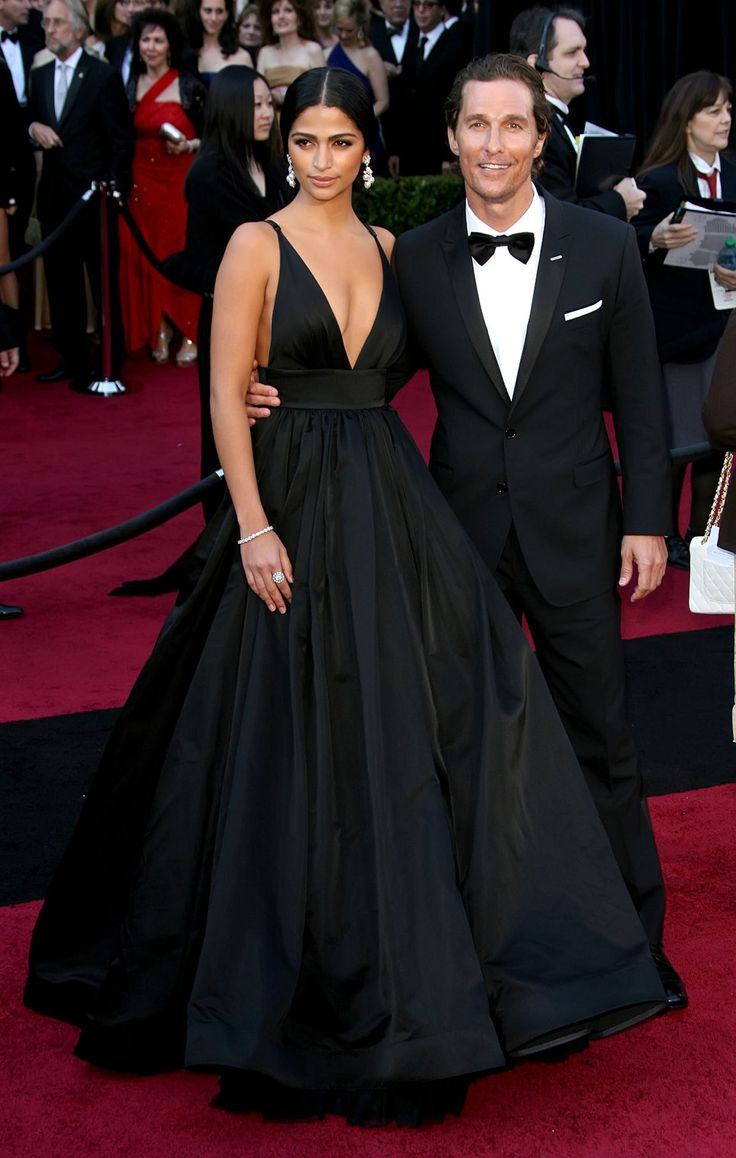 Matthew Mcconaughey And Camila Alves...she's gorgeous! and is always so well put together! <3 her style!