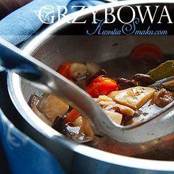 Zupa grzybowa z suszonych grzybów z ziemniakami | Kwestia Smaku