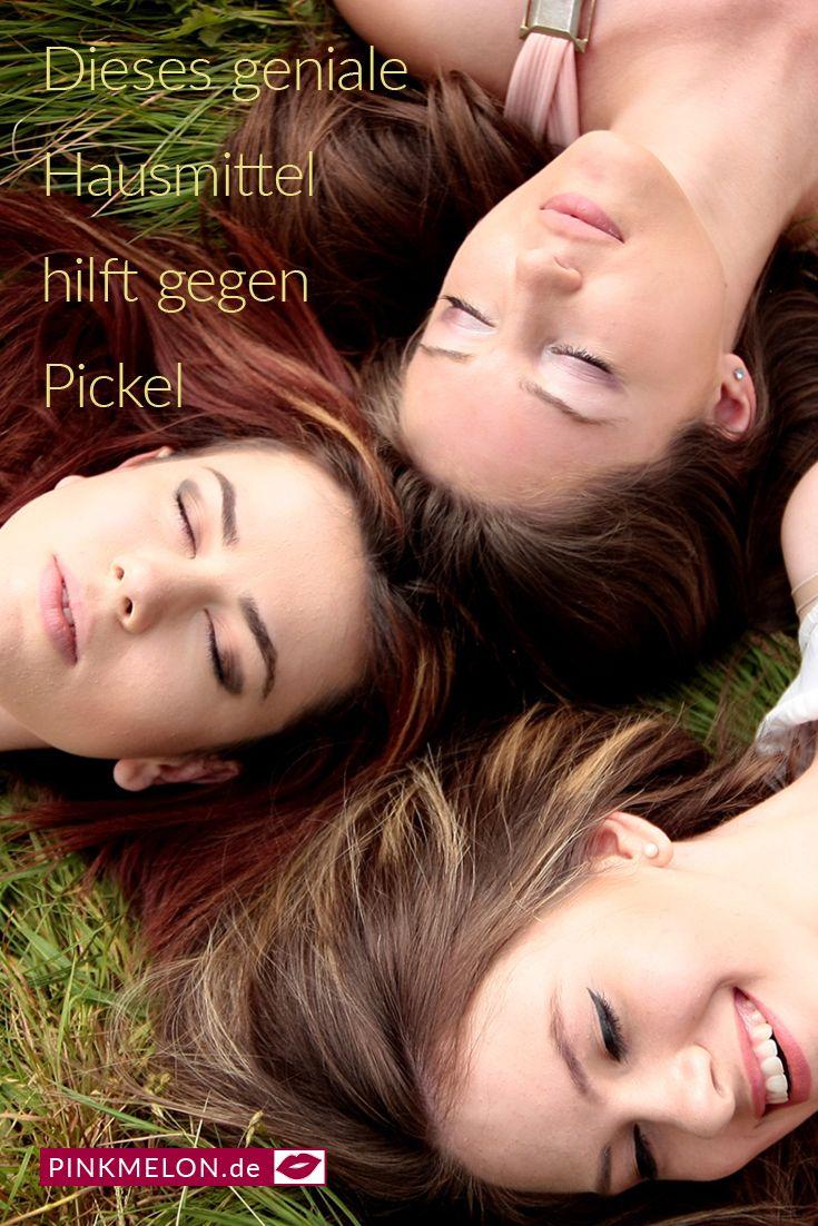 Dieses geniale Hausmittel hilft gegen Pickel #pickel #haut #pflege #diy #schön …