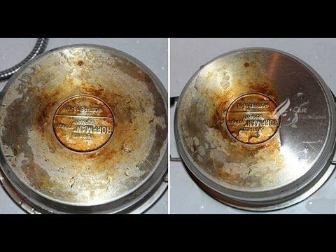 LIMPIA la Grasa y Suciedad de tus utensilios de cocina con está Herramienta maravilla - YouTube