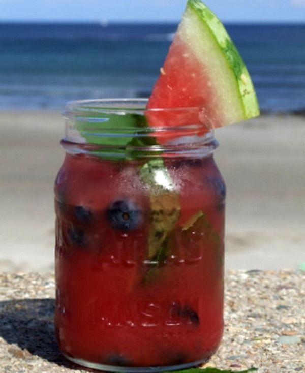 Watermelon Tequila Cocktails #recipe