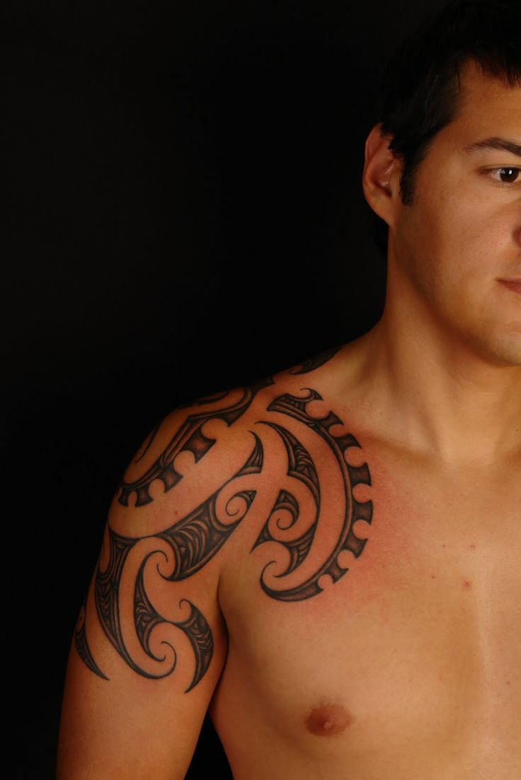 Maori Octopus Tattoo: 17 Best Images About Shoulder Tattoos For Men On Pinterest