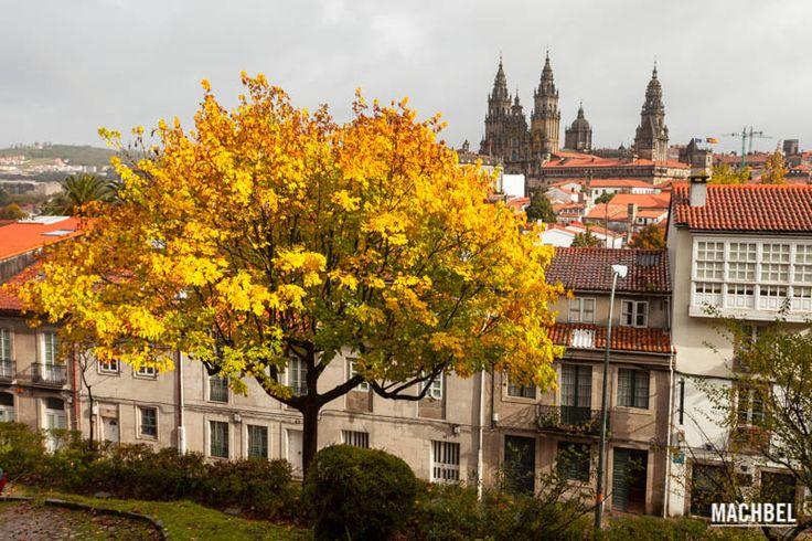 Santiago de Compostela en Otoño