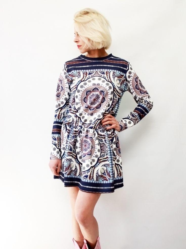 Sukienka Mozaika Ach!Veverka