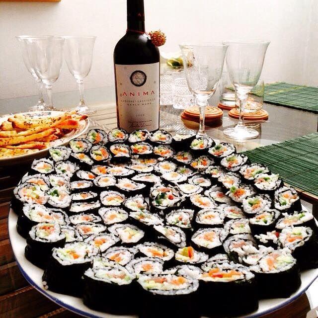 Suhi. Anima. Dinner. Aurelia Visinescu. Festive.