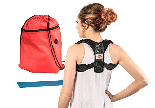 Adjustable Posture Corrector For Women & Men | Ultra-Comfortable Breathable Clavicle Chest Brace | Relieve Back,Shoulder, and Neck Pain | Cervical Support for Upper Back | Prevent Slouching/Hunch #Adjustable #Posture #Corrector #Women #Ultra #Comfortable #Breathable #Clavicle #Chest #Brace #Relieve #Back,Shoulder, #Neck #Pain #Cervical #Support #Upper #Back #Prevent #Slouching/Hunch