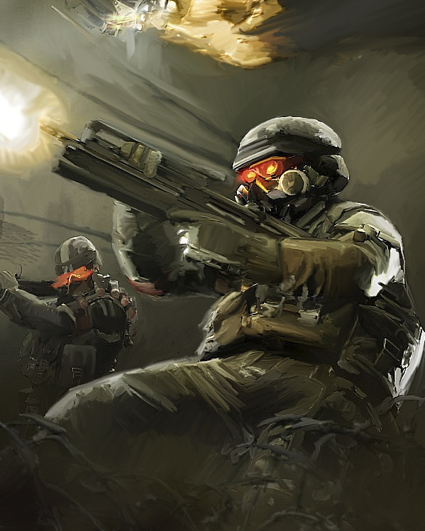 Killzone painting