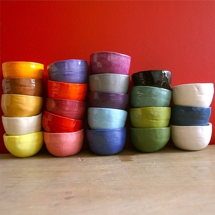 Bridget Bouquet - Etsy atelierBB -  home of the Wobbly Plates & Belly Bowls