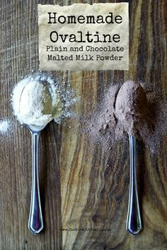 Homemade Ovaltine (Chocolate and Plain)   www.foodiewithfamily.com