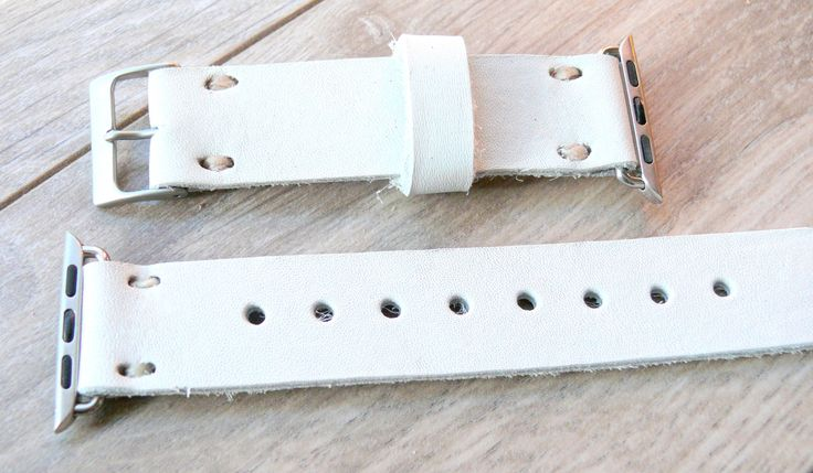 Leather Apple Watch band 38mm leather watch band, Apple Watch, iwatch band, apple watch band white leather strap white band by Watchchas on Etsy https://www.etsy.com/listing/475010804/leather-apple-watch-band-38mm-leather