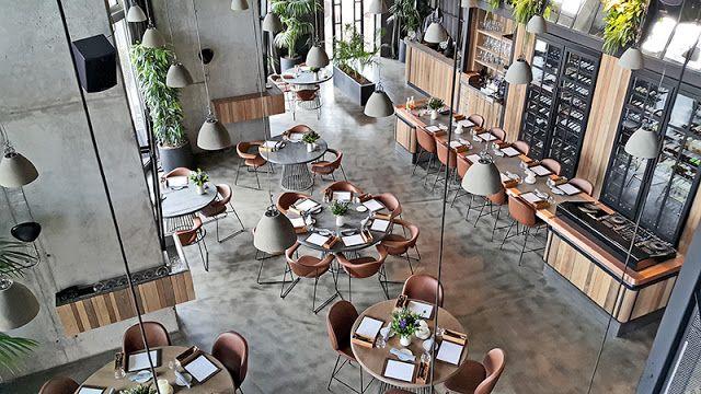 DAzulterrA: The Atmosphere at ALANCHA, Istanbul Best new restaurant  nominee, WallpaperDesignAwards, Design