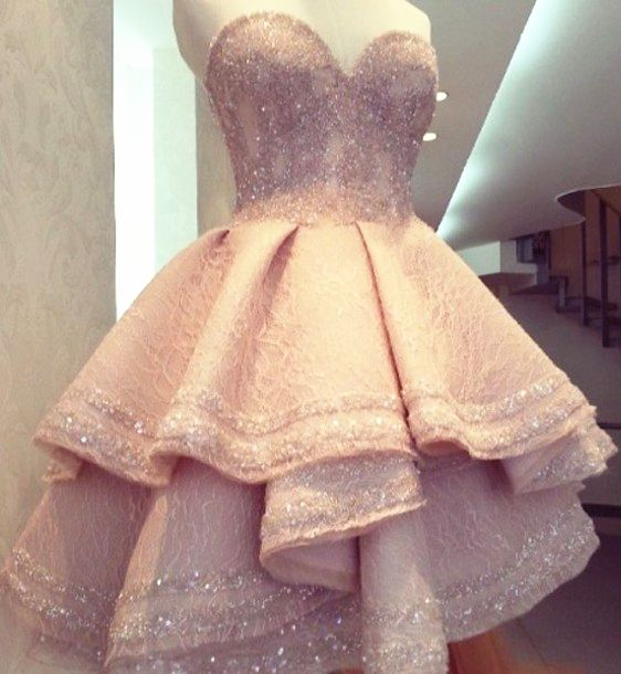 short homecoming dresses, beaded prom dresses, ball gown homecoming dresses, pink homecoming dresses, sweetheart prom dresses, beaded homecoming dresses, ruffles homecoming dresses