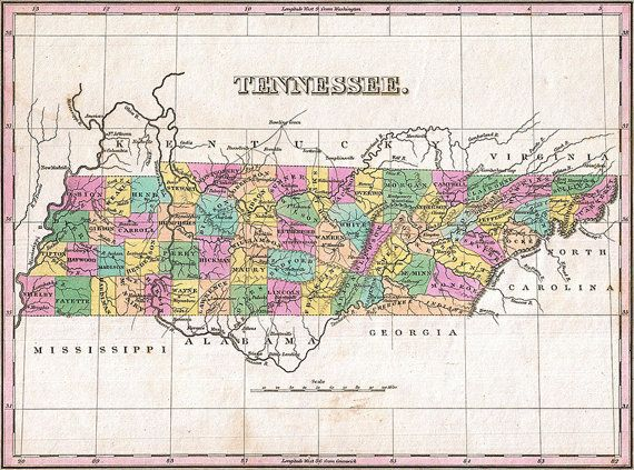 Best Tennessee Map Ideas On Pinterest Pigeon Forge - Tennessee maps