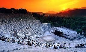 Famous theatre of Epidaurus!