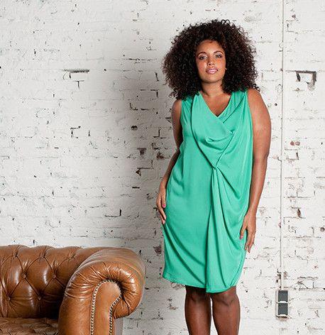 Jurken grote maten | x-two.com - Grote maten dameskleding