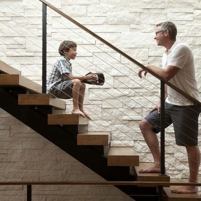 Modern Stairs Design Ideas, Pictures, Remodel, and Decor