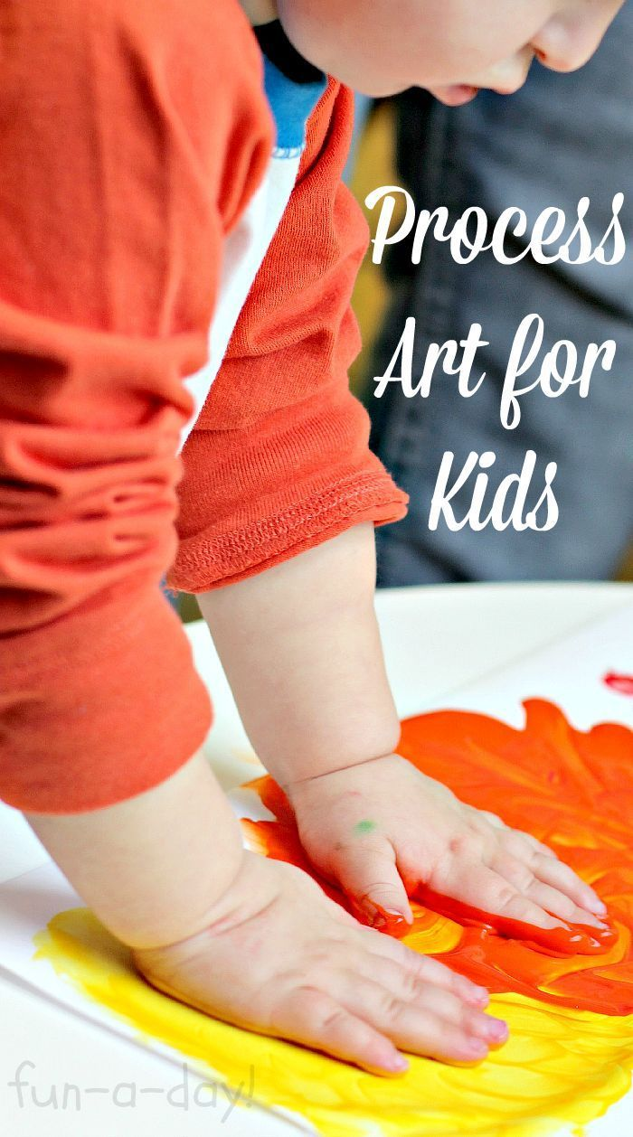 What is Process Art for Kids & Why is It Important? #ProcessArt #Preschool #ECE #EarlyChildhood #PreschoolActivities #Kindergarten #KidsArt #KidsActivities #Preschoolers #PreschoolTeacher #Teachers