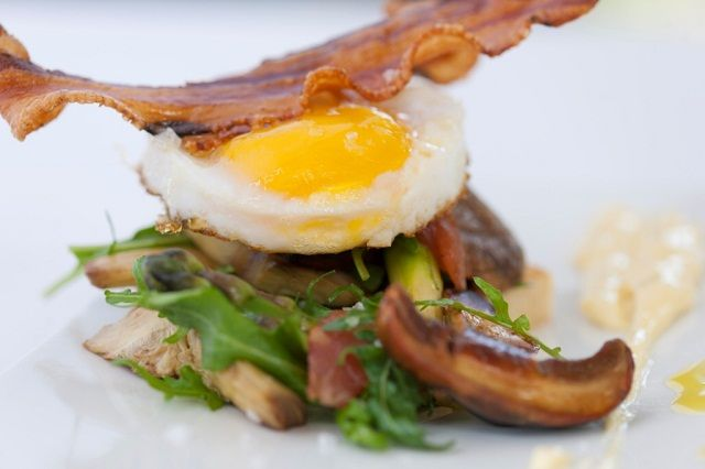 Bacon and eggs has never tasted this good at Lanzerac   http://www.lanzerac.co.za/terrace-rb/