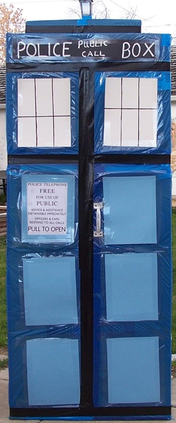homemade TARDIS