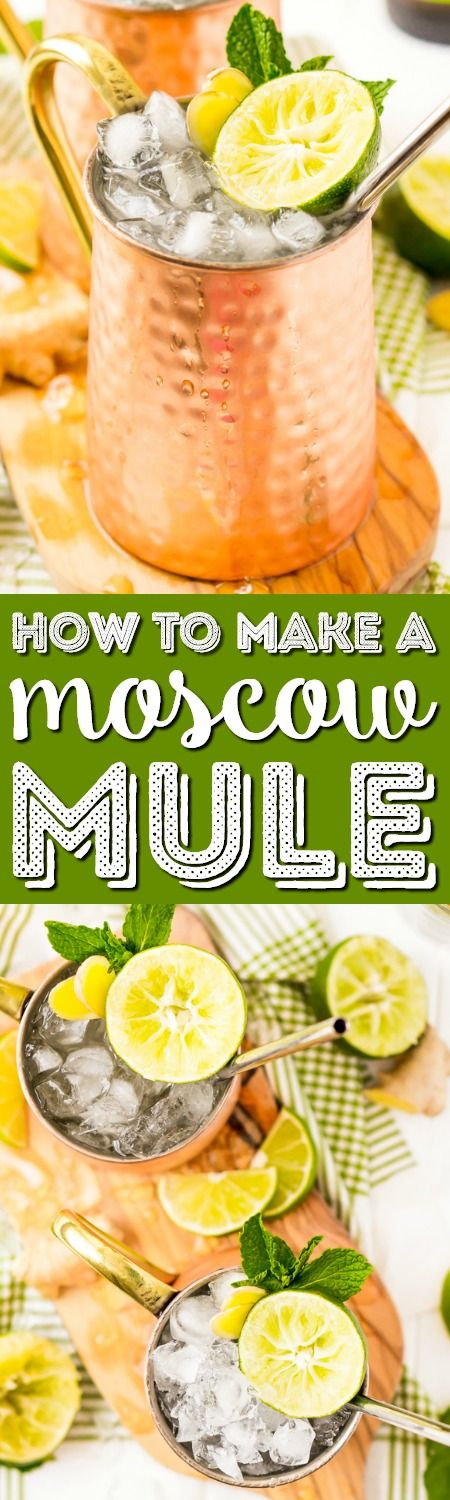 How to Make the Best Ever Moscow Mule Recipe with vodka, lime juice, ginger beer and a few extra ingredients that really take this classic cocktail to the next level! via @sugarandsoulco #moscowmule #cocktails #vodka