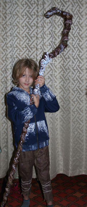 Jack Frost Costume Kids, JackFrost, Kids costume, Handmade Jack Frost