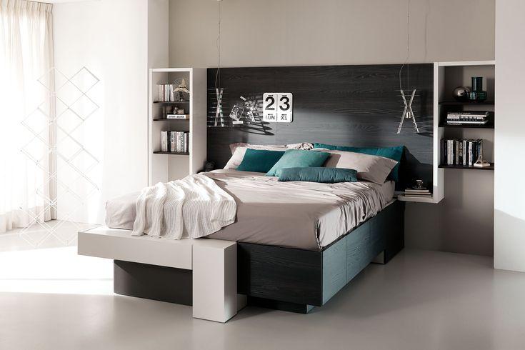 Camera componibile salvaspazio moderna D28 | Camera da letto ...