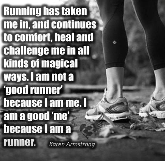 I run marathons! I will train, qualify and run the Boston and New York marathons before I turn 30. I will run a 10k, a 1/2 marathon and a full marathon every year for the rest of my life