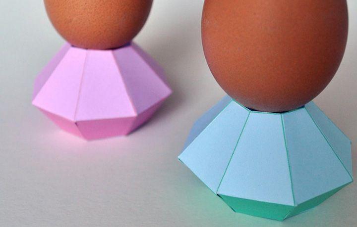 Niet alleen met Pasen zijn eitjes een onderdeel van ons ontbijt. Ze sieren vaak onze eettafel en het leukste is dan toch wel om ze in een leuk eierdopje te plaatsen. Met deze tutorial maak je er makkelijk eentje zelf!