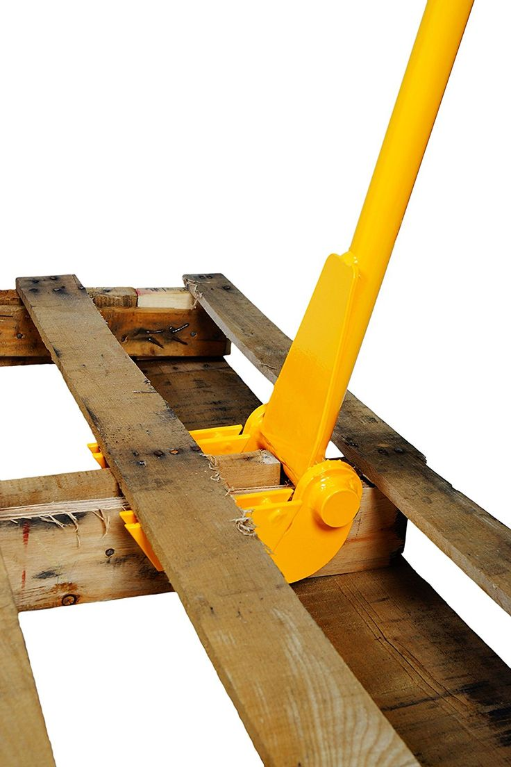 Working with pallets 5 essential woodworking power tools that won - Deluxe Pallet Buster Is Designed For Disassembling Pallets Easily Articulating Head Won T Break Or Split The Wood Features Durable Steel Construction For
