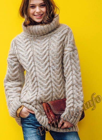 Пуловер (ж) 05*652 Phildar №4750