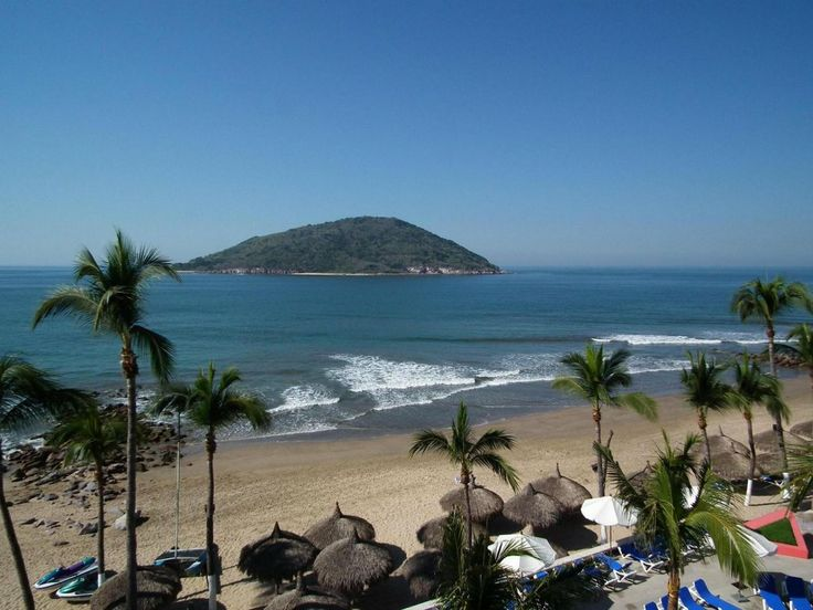 Mazatlan Mexico - swam to that island....not as close as it would appear :)