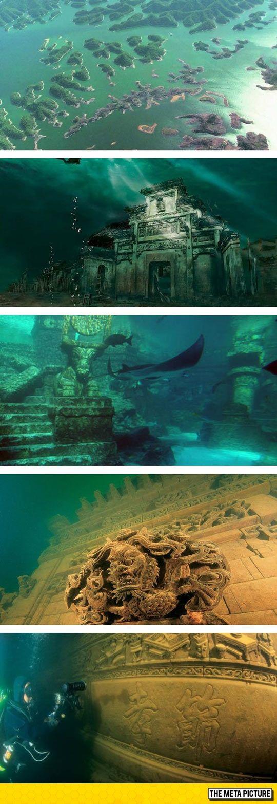 Shi Cheng: Underwater City