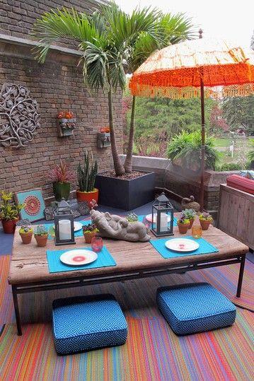Cancun Reversible Indoor/Outdoor Rug - Multicolor on HauteLook