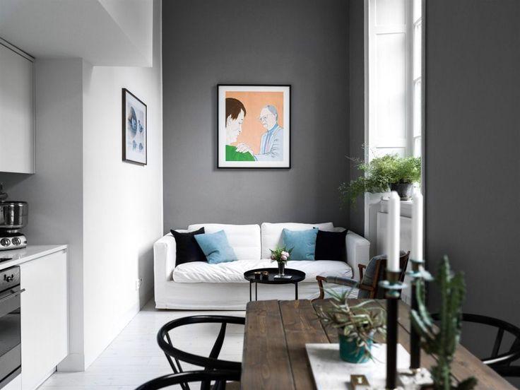mini pisos estilo nórdico duplex sueco dormitorio acogedor decoración pisos pequeños decoración duplex pequeño decoración dormitorio