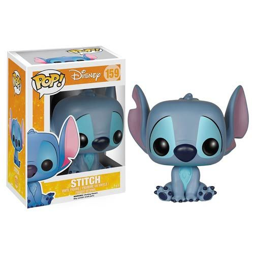 A New Stitch POP and Keychain are coming soon - Thank G-O-D the old one looked really creepy and weird.