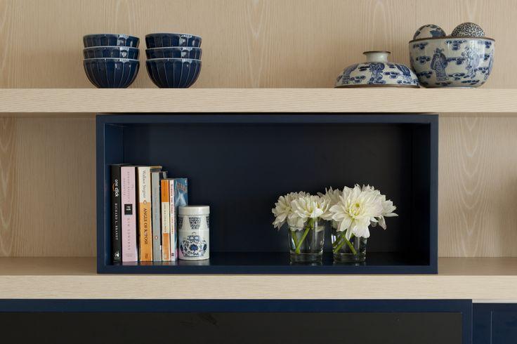 Bookshelf detail. Brooke Aitken Design