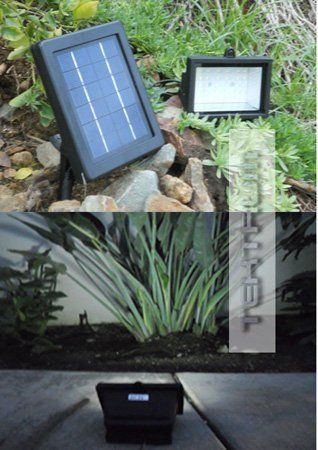 TEKTRUM 30 LED SOLAR POWERED WALL GROUND MOUNT SUPER BRIGHT FLOOD LIGHT FOR SIGN/BILLBOARD/WALKWAY/BACKYARDS/SHED by tektrum. $39.95. This item includes a case of one (1) 30 white LED solar powered wall ground mount super bright flood light. Product Description: The 30 white LED solar powered flood light system provides super bright night-time lighting for camp, RV, boat, entrances, backyards, landscapes, patios, walkways, garages, parking lots, signs, billboards, shed a...
