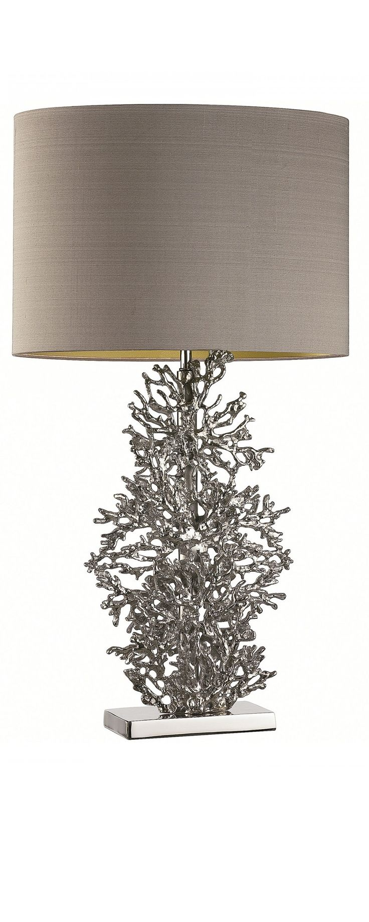 21 best silver lamp images on pinterest silver lamp silver silver cast coral lamp at instyle decor beverly hills hollywood luxury home geotapseo Image collections