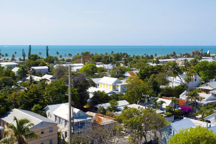 Key West, Fla.   The place that Ernest Hemingway once called home, Key West's colorful homes and tropical weather make this a hot destination spot at the very bottom of the country (you can't get more south while staying in the U.S.). Go dolphin spotting or tour the aforementioned author's house, where the descendants of his six-toed cats still roam