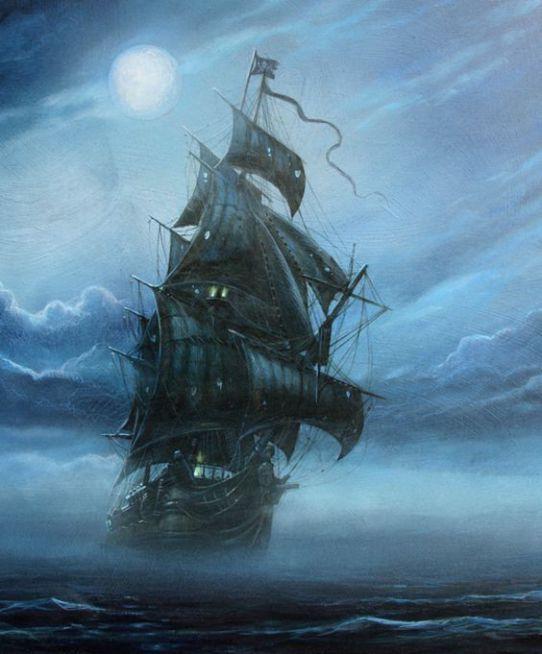 Le Hollandais Volant, le vaisseau maudit