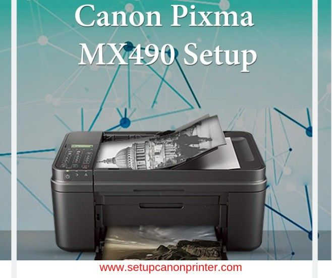 Canon Pixma MX490 printer is one amongst the printers that