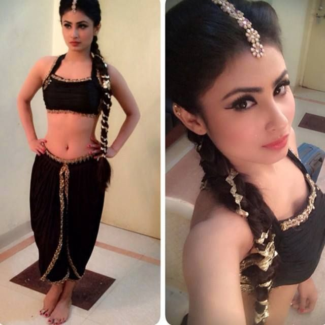 mouni roy in nagin dress black costume pics hd photos images wallpapers