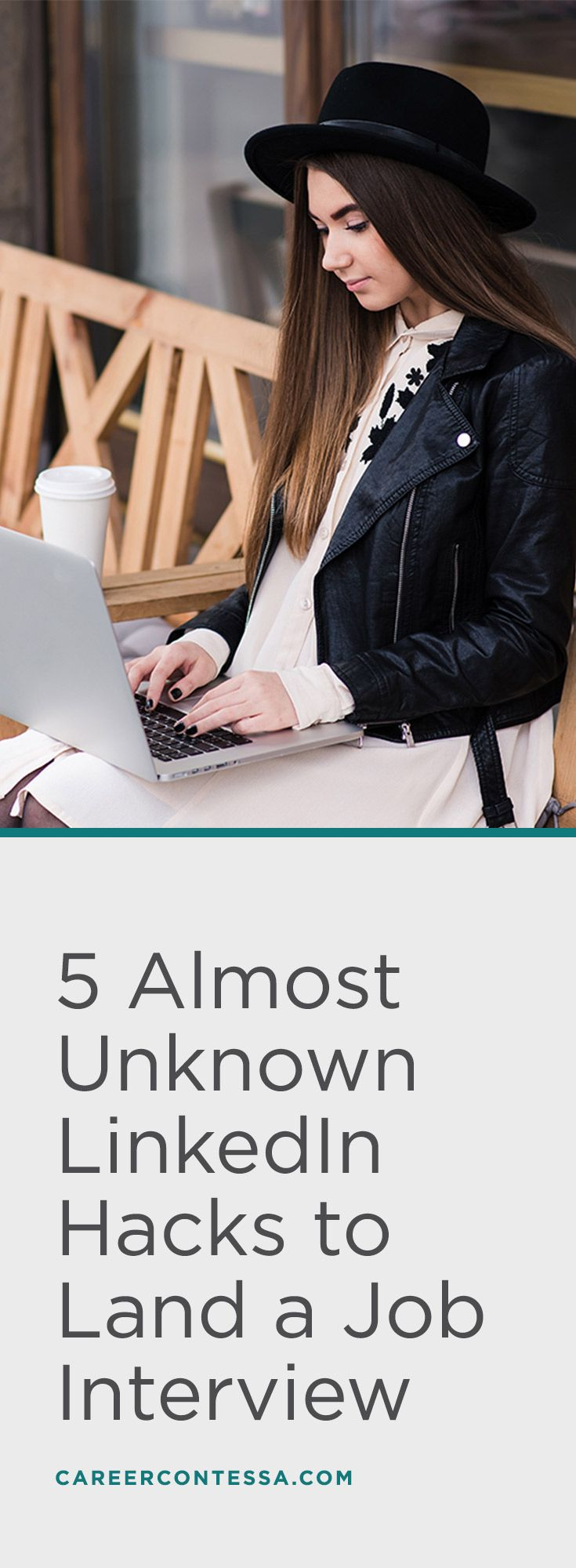 LinkedIn can be a bit tricky, but is also the best way to move forward when you're searching for a new job. Make sure you know the LinkedIn hacks that most other candidates aren't using to land your dream job. | CareerContessa.com