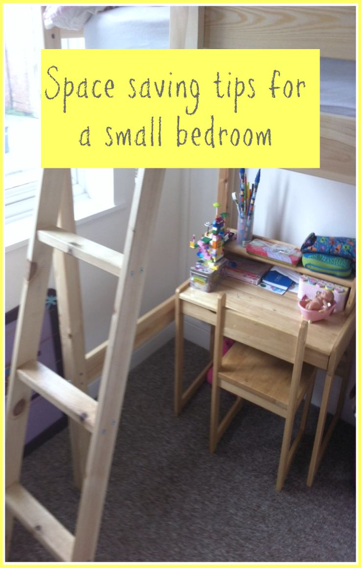 Space saving tips for a small bedroom home decor pinterest space saving tips and small - Space saving ideas for small rooms gallery ...