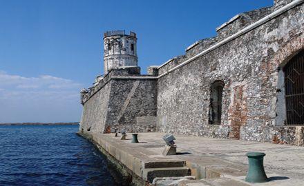 Fortaleza de San Juan de Ulua en el Puerto de Veracruz