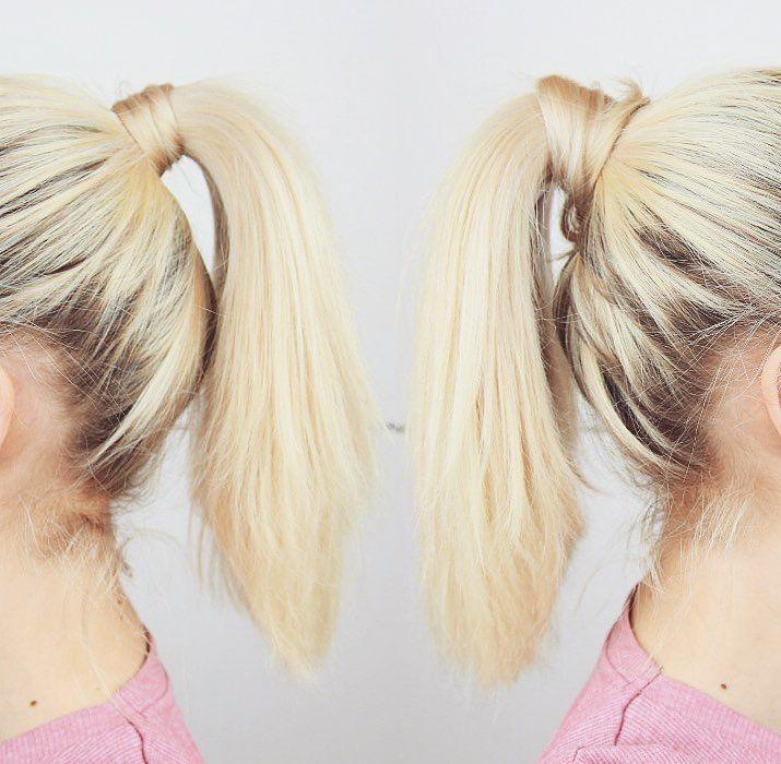 Pony Puffin Mit Diesem Teil Bekommt Dein Zopf Direkt Mehr Volumen Long Hair Styles Hair Styles Beauty